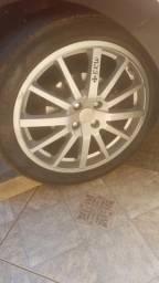 4 rodas aro 17 + pneus