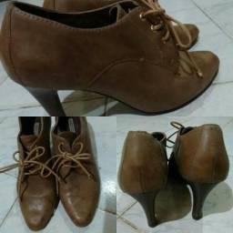 Sapatos Oxford Couro