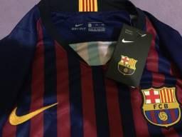 Camisa Original do Barcelona - Tamanho G 91b70b36290cb