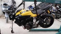 Moto P/ Retirada De Peças/sucata Yamaha Mt 07 Abs Ano 2017