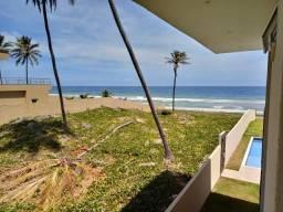Terreno frente praia dentro condomínio fechado Jacuípe - pronto para construir