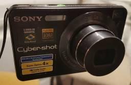 Câmera Fotográfica Sony DSC-W125 Full HD 1080 + Cartão de Memória 4GB