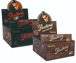 Caixa Smoking Preta ou Brown 50 Unid Grandes Entregamos