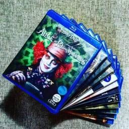 Blu-ray coleção original + 100 filmes.