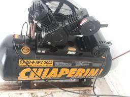 Compressor 175 libra 2 cabeçotes