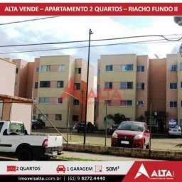 Apartamento à venda com 2 dormitórios em Riacho fundo ii, Brasília cod:155