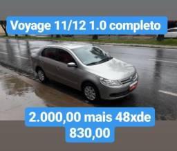 Voyage 2012 1.0 completo 2.000,00 mais 48 x de 830,00 - 2012