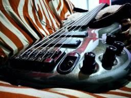 Bass Ibanez Ergodyne edc 705 ativo