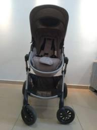 Carrinho de Bebê + Bebê conforto