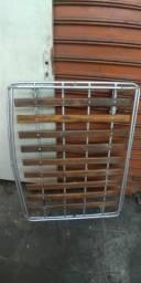 Rack Bagageiro Maleiro Gradeado madeira De Teto comprar usado  São Paulo