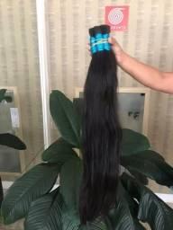 Promoção de cabelo humano natural(mega hair)