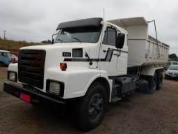 Volvo n10 caçamba 12m3 truck 360 cv turbo reduzido 10 marchas 1985