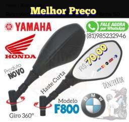 Retrovisor F800 para motos Honda 0079