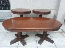 Mesas antigas de madeira
