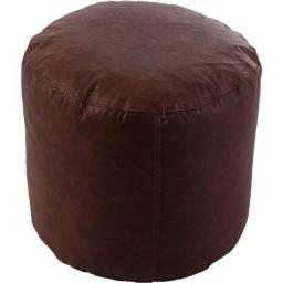 Puff marrom R$80,00