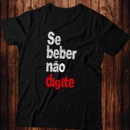 Camiseta - Se Beber Não Digite- Artgk