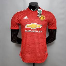 Camisa Manchester United Home 2020 / 2021 - Jogador