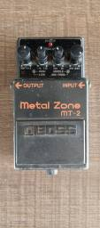 Pedal metal zone boss