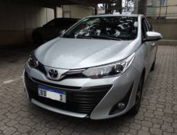 Yaris Sedan XLS 1.5 Automático 2019 Único Dono na Garantia