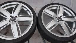 Vendo jogo de rodas 20 pneu novo