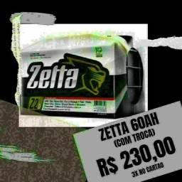 Zetta 60Ah R$230,00