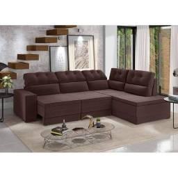 Sofa de canto retratil Monte Carlo RRR616