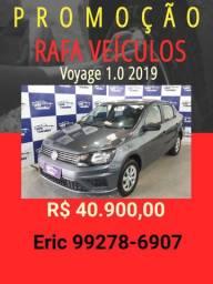 Voyage 1.0 2019 com mil de entrada - Rafa Veiculos +Eric -hhhd10