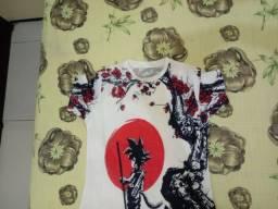 Camisas harry potter e dragon boll z vendo juntas ou separadas