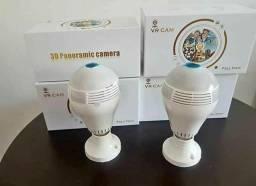 Câmera de segurança IP Wifi Lâmpada V380