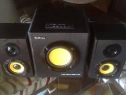 Caixa De Som 2.1, 20w, Braview Sp-b20a