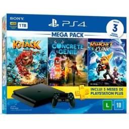 PlayStation 4 Novo Lacrado 1 ano de garantia