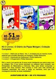 Kit 3 Livros | Diário de Um Nerd | Coleção Completa