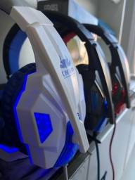 Fone gamer headset pra PC e celular -(Lojas Wiki)