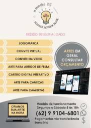 Arte digital - Anápolis enviamos para qualquer lugar do Brasil