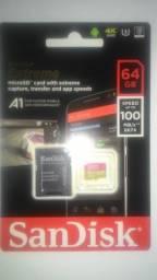 Cartão Sandisk Extreme 64gb Original