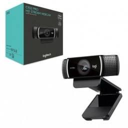 Webcam Logitech C922 PRO Full hd 1080P 30fps Tripé