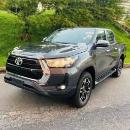 Título do anúncio: Toyota Hilux Srv 2021/2021 Okm pronta entrega!!!