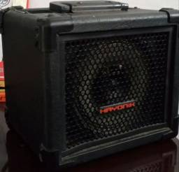 Caixa Multiuso 20w usb/sd/fm Iron 80 Preta Hayonik bateria interna