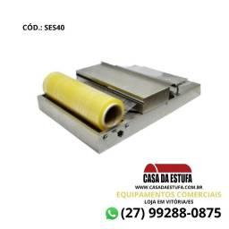Seladora Embaladora de Bandeja Inox Elétrica 220V - Stevan