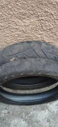 Título do anúncio: Vendo par de pneu usado