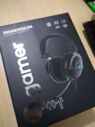 Headset Gamer 7.1 RGB (Novo na Caixa)!!!