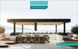 Título do anúncio: Flat com espaço relax e Piscina na Cobertura | Centro de Porto de Galinhas | 1 e 2 Quartos
