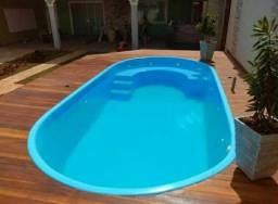 piscina de fibra vários tamanhos