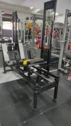 Aparelho Leg press 180° (horizontal)