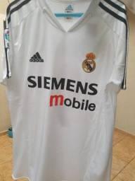 Camisa retrô Real Madrid 2004 importada