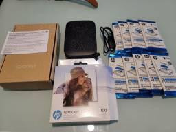 Sprocket 2 Preta impresora portátil compatível com redes sócias. + 90 fotos