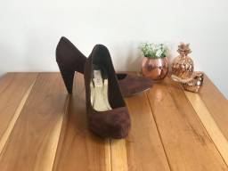 Sapato Feminino Vizzano - Tam 37 - Usado Uma Vez