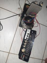 trasformador de caixa amplificada com bluetoth