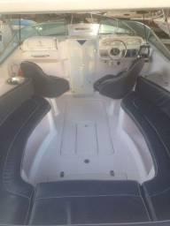 Título do anúncio: Lancha Tecnoboats 28 Cabinada com Parelha de Motores à Diesel Impecável