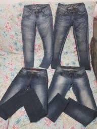 Calças Jeans Marca Denúncia e Beagle Tam. 36